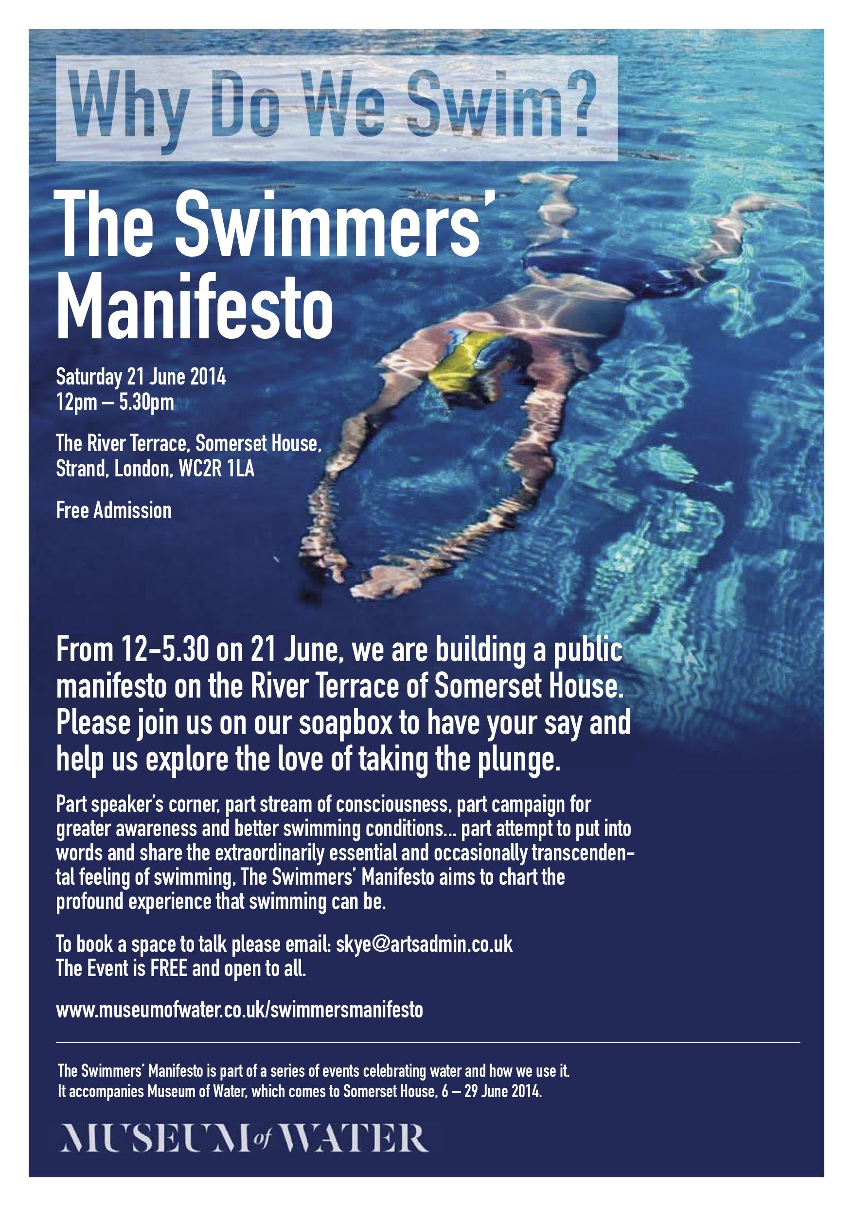 Swimmers Manifesto 2[1][4]