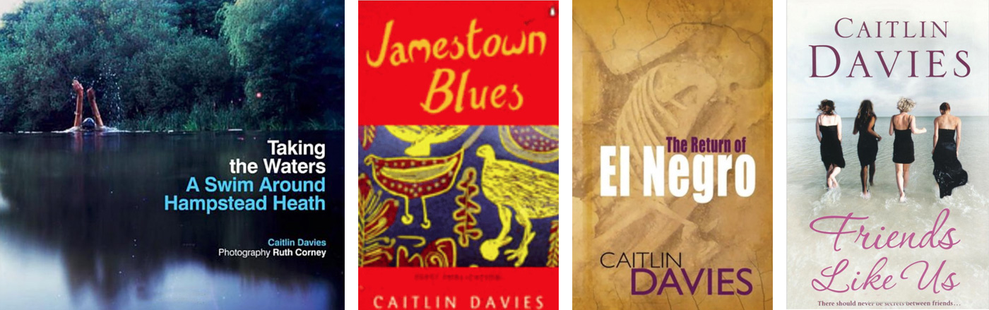 Caitlin Davies - writer, author, novelist, journalist, UK